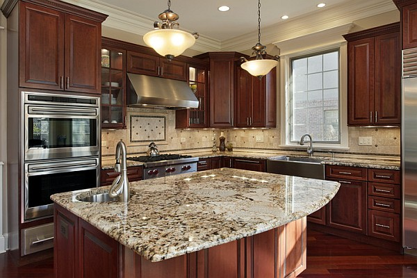 Granite and Marble Counter Top, Beveling, Polishing